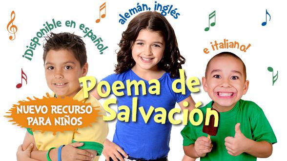 ¡Equipe a sus niños con el Poema de Salvación que cambia vidas! ¡Vea un anticipo de este increíble recurso ahora!